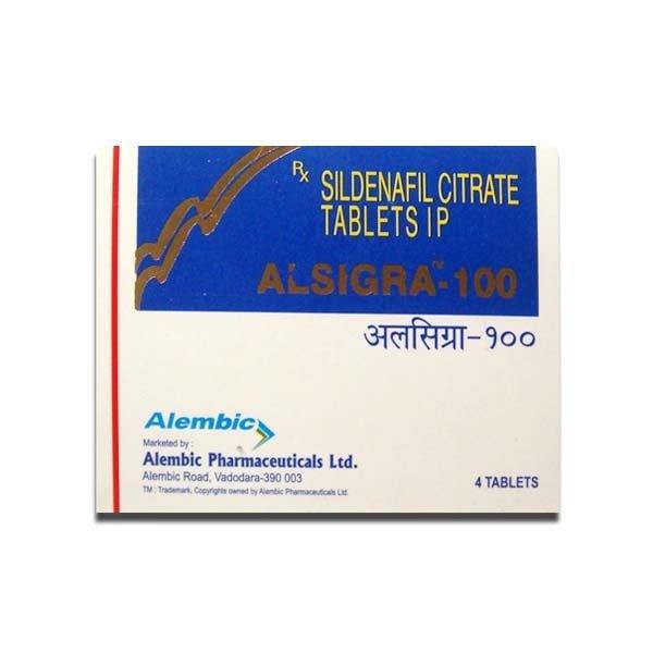 Alsigra 100 Mg Tablet