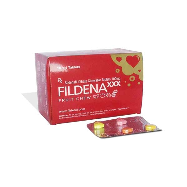 Fildena Chewable 100 Mg Tablet