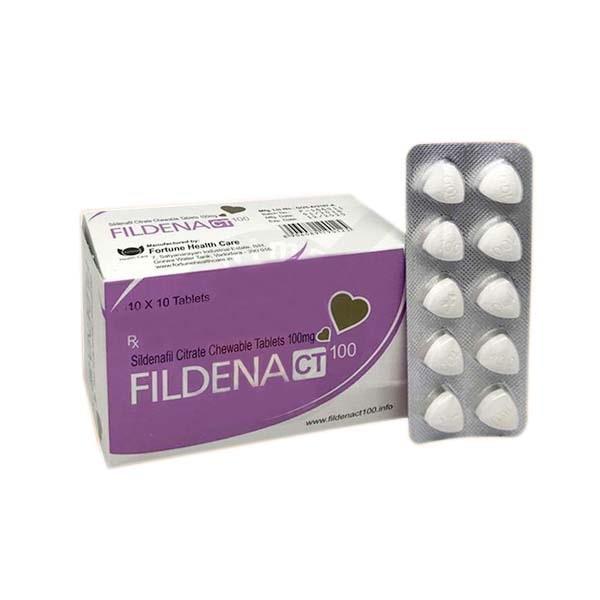 Fildena Ct 100 Mg Tablet