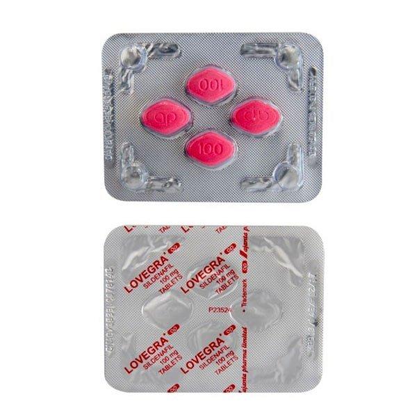 Lovegra 100 Mg Tablet