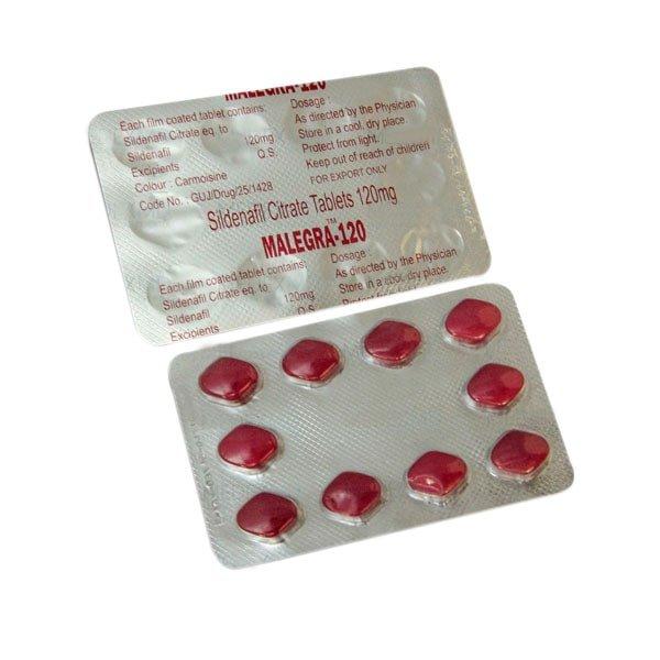 Malegra 120 Mg Tablet