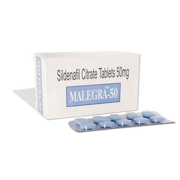 Malegra 50 Mg Tablet