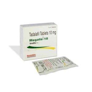 Megalis 10 Mg Tablet