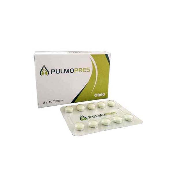 Pulmopres 20 Mg Tablet