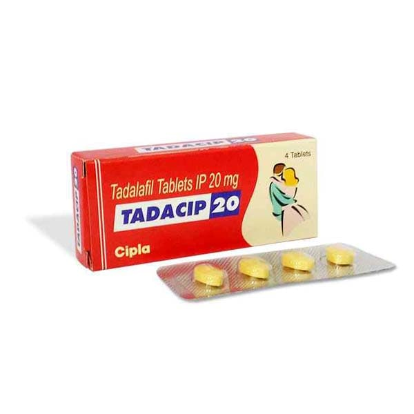 Tadacip 20 Mg Tablet