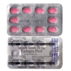 Tadagra Prof 20 Mg Tablet