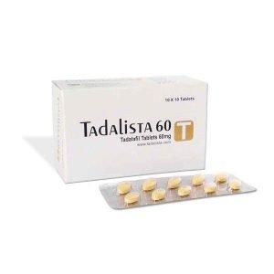 Tadalista 60 Mg Tablet