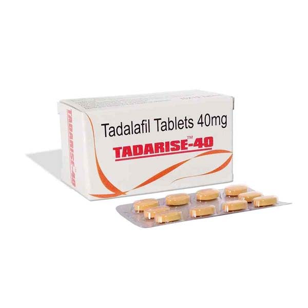 Tadarise 40 Mg Tablet