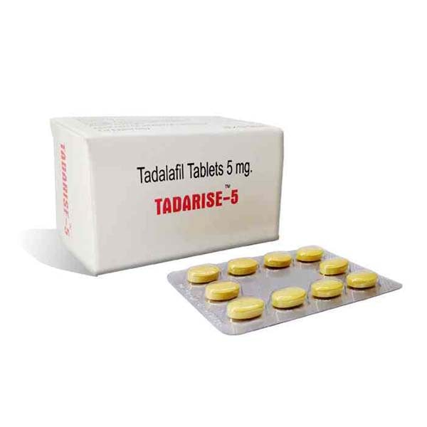 Tadarise 5 Mg Tablet