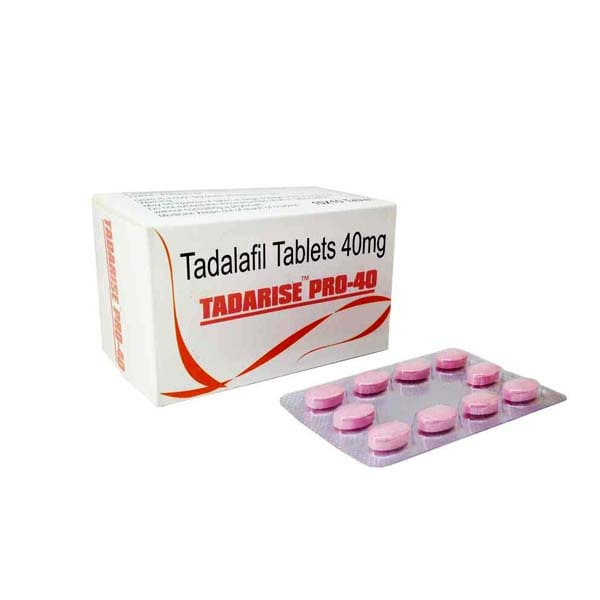 Tadarise Pro 40 Mg Tablet