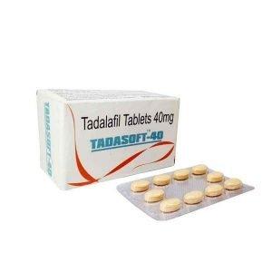Tadasoft 40 Mg Tablet