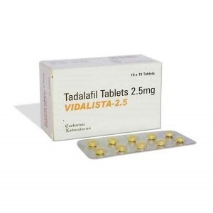 Vidalista 2.5 Mg Tablet