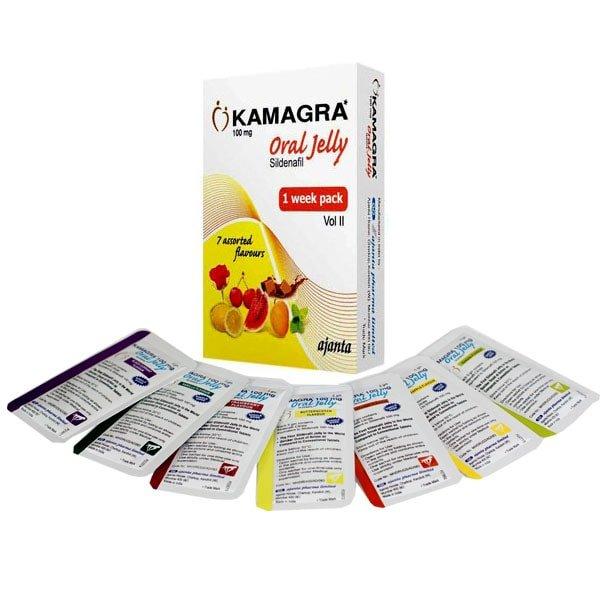 Week Pack Kamagra 100 Mg Oral Jelly