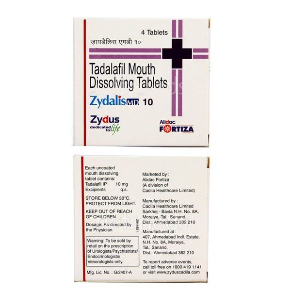 Zydalis 10 Mg Tablet